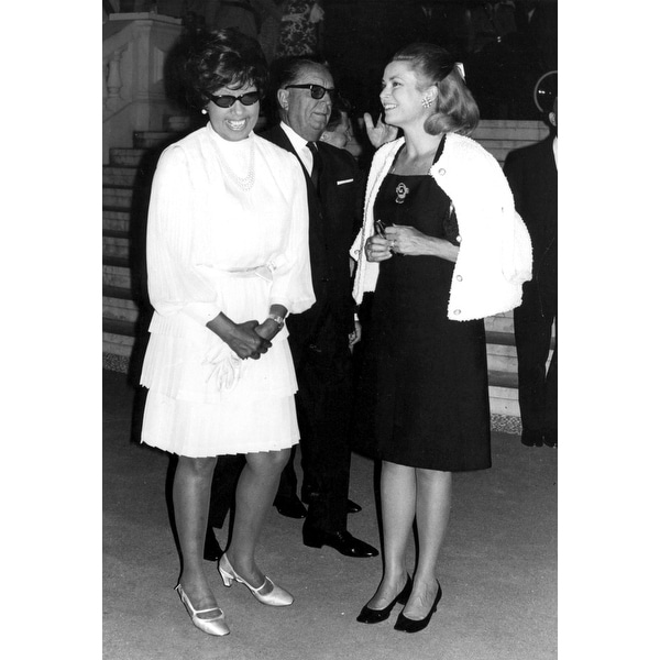 a8c3359732 Grace Kelly with Josephine Baker Photo Print