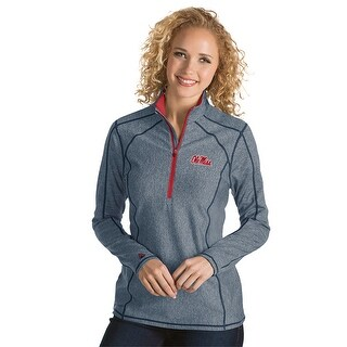 University of Mississippi Ladies Tempo 1/4 Zip Pullover