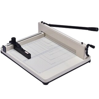 Costway 17 Inch A3 Paper Cutter Guillotine Trimmer Cutting Machine Heavy Duty 400 Sheets