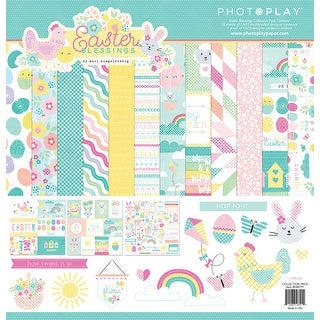"""Photoplay Collection Pack 12""""X12""""-Easter Blessings"""