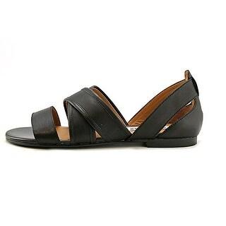 Steve Madden Women's Korteous Two-Piece Leather Sandals