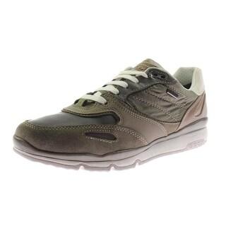 Geox Mens Sandro Leather Waterproof Fashion Sneakers