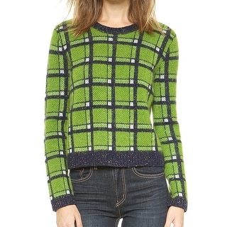 Marc by Marc Jacobs NEW Green Women's Size Large L Crewneck Sweater