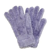 CTM® Women's Chenille Solid Winter Stretch Gloves