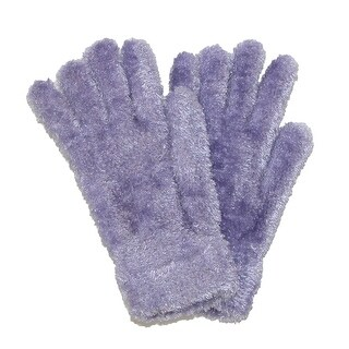 CTM® Women's Chenille Solid Winter Stretch Gloves (2 options available)