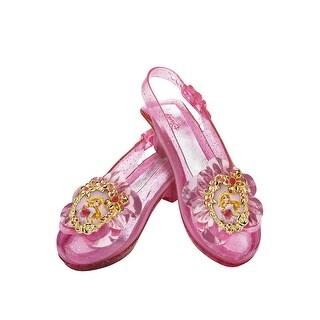 Disguise Disney Princess Aurora Sparkle Child Shoes - Pink