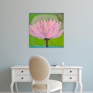 Easy Art Prints Jodi Fuchs's 'Bliss Lotus II' Premium Canvas Art