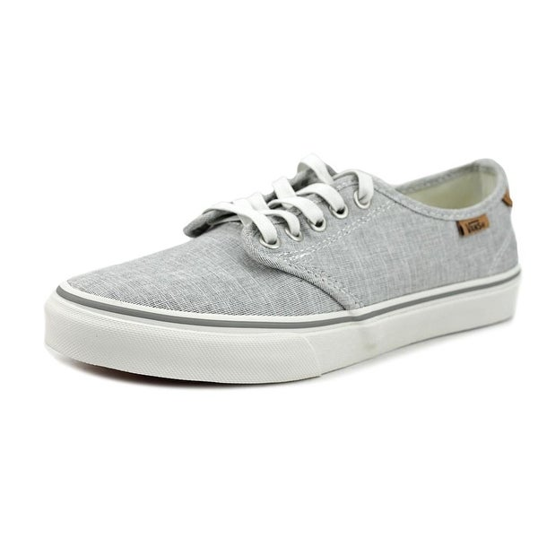 2ea153adeeef Shop Vans Camden Deluxe Women Canvas Gray Fashion Sneakers - Free ...