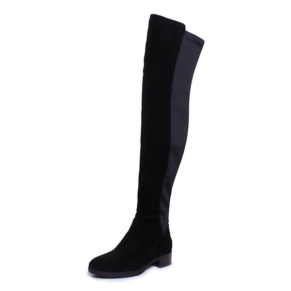 Tory Burch Caitlin Over the Knee Tall Suede Boots
