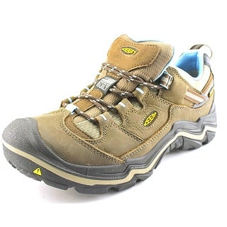 Keen Durand Low Wp Round Toe Leather Hiking Shoe