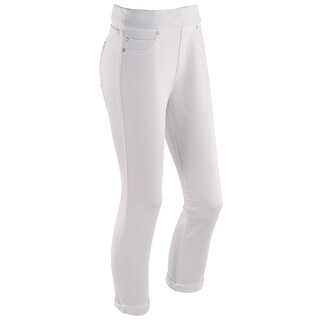 Liverpool Jeans Company Women's Pull-On Capri Length Denim Pants