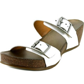 Naturalizer Oxygen W Open Toe Leather Wedge Sandal