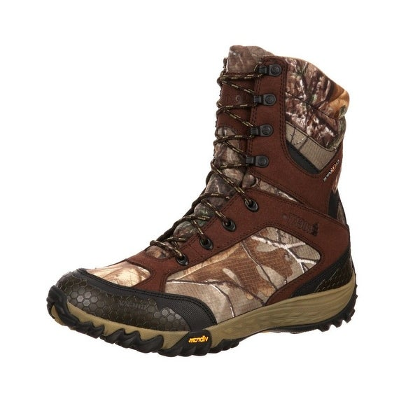 "Rocky Outdoor Boots Mens 9"" SilentHunter WP Realtree Xtra"