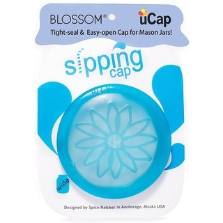 Blossom 16833 uCap Silicone Standard Storage Cap, Clear
