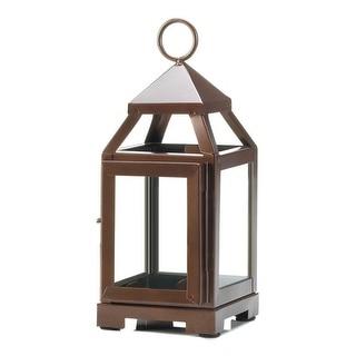 Copper Mini Contemporary Lantern