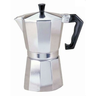 Primula PES-3312 Aluminum Stovetop Espresso Coffee Maker, 12 Cup