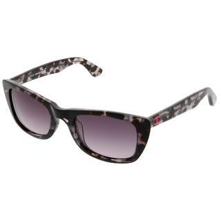 a35c6aca38d Just Cavalli JC 563S S 01B Black Rectangle Sunglasses - 55-19-140 · Quick  View