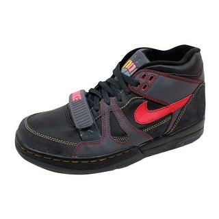 Nike Men's Air Alpha Force II 2 Black/Varsity Red-Anthracite-Bright Mango 307718-061