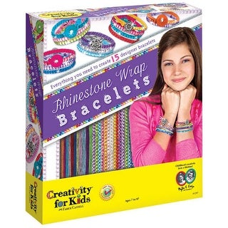 Creativity for Kids - Rhinestone Wrap Bracelets Kit
