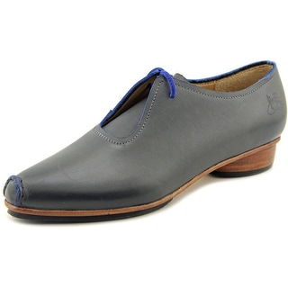 John Fluevog Waterloo Round Toe Leather Oxford