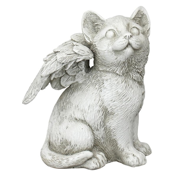 Design Toscano Loving Friend, Memorial Pet Cat Statue: Medium