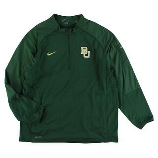 Nike Mens Baylor Bears Hybrid Jacket Green - XxL