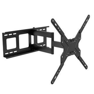 "Fleximounts A25 full motion articulating TV wall mount tilt swivel bracket fit for 26""-55"""