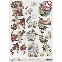 SB10055 Find It Trading Amy Design Brocante Christmas Punchout Sheet