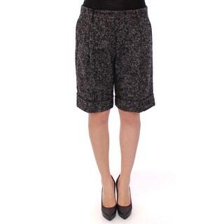 Dolce & Gabbana Dolce & Gabbana Gray wool shorts pants - it44-l