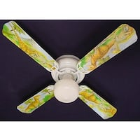 Dinosaurs Print Blades 42in Ceiling Fan Light Kit - Multi