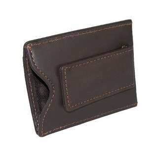 DOPP Men's Leather Card Holder with Magnetic Money Clip Wallet - One size