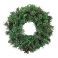 Royal Oregon Pine Artificial Christmas Wreath, 24-Inch Unlit - Green