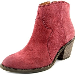 Lucky Brand Marcos Round Toe Suede Bootie