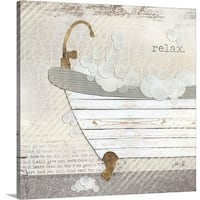 Marla Rae Premium Thick-Wrap Canvas entitled Relax - Multi-color
