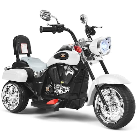 Costway 3 Wheel Kids Ride On Motorcycle 6V Battery Powered Electric