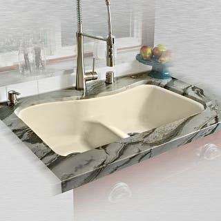 Buy Cast Iron Kitchen Sinks Online at Overstock.com | Our Best Sinks ...