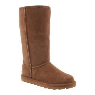 Bearpaw Women's Elle Tall Boot Hickory II Suede