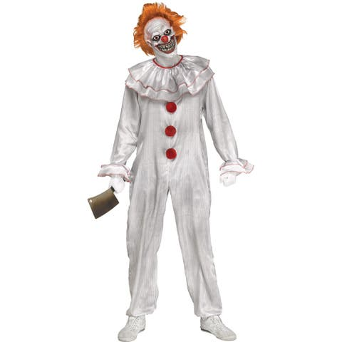 Adult Carnevil Clown Pennywise It Costume - Standard (42-46 chest)