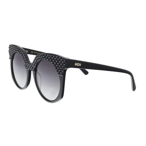 MCM MCM643SR 001 Black Round Sunglasses - 52-21-140