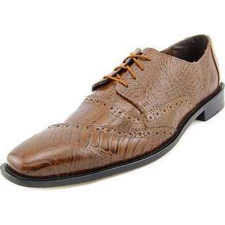 Stacy Adams Garzon Men Round Toe Leather Brown Oxford
