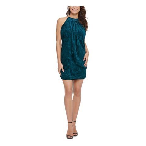 KENSIE Teal Sleeveless Mini Dress 14