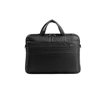 """Kingsons Campus Series 14.1"""" black laptop shoulder bag"""