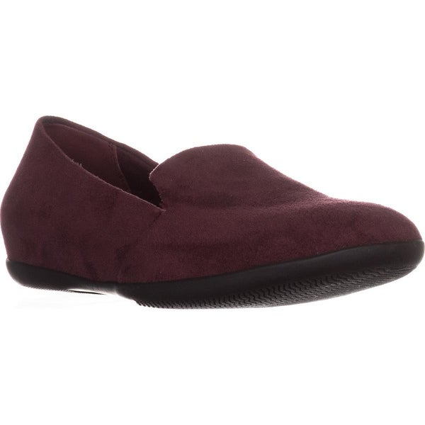 BareTraps Janine Comfort Flat Loafers, Wine - 8.5 us