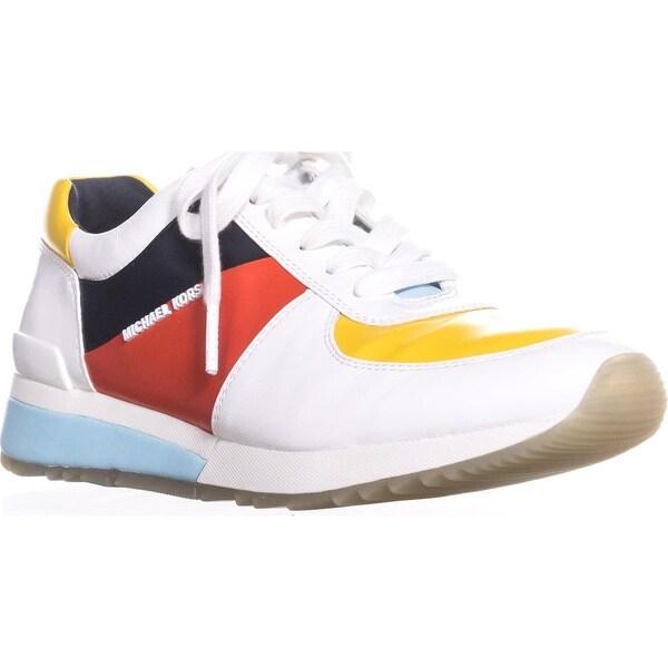 db05ad7c MICHAEL Michael Kors Allie Wrap Trainer Fashion Sneakers, Sunflower/White