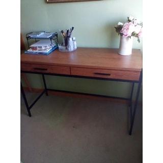Caffoz Home Office 2-Drawer Writing Desk