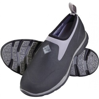 Muck Boot Men's Excursion Pro Low Black/Gunmetal Size 13 Outdoor Shoe