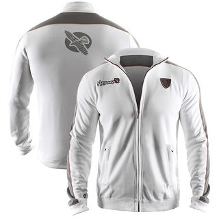 Hayabusa Track Jacket - White - mma boxing fitness