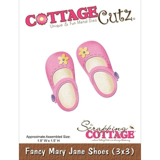 "CottageCutz Die -Fancy Mary Jane Shoes 1.8""X1.5"""