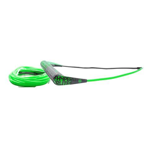 Hyperlite Team Handle w/75' Silicone X-Line Combo - Green