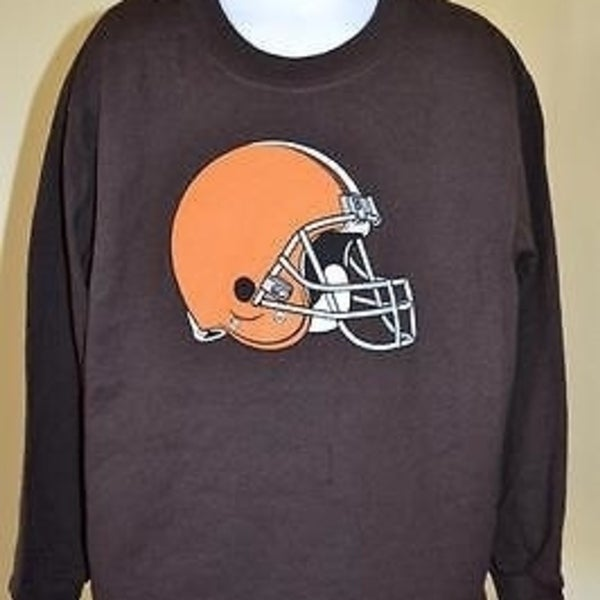 buy popular 4ed22 cc6b3 MINOR FLAW- NFL CLEVELAND BROWNS kids LARGE L (7/6X) brown shirt 66VG